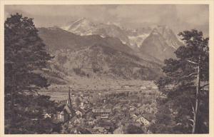 Germany Partenkirchen mit der Zugspitze