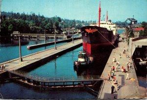 Washington Seattle Government Locks 1971