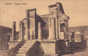 POMPEI, Templo d'Iside, Campania, Italy, 00-10s