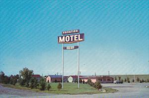 The Frontier Motel , MEDICINE HAT , Alberta , Canada , 50-60s