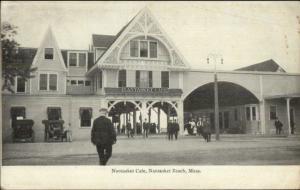 Nantasket Beach MA Caf' c1905 Postcard