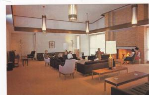Lounge , Totem Park Residences, University of British Columbia, Canada , 40-60s