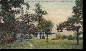 Maryland Oakland Seelheim The Weber Homestead