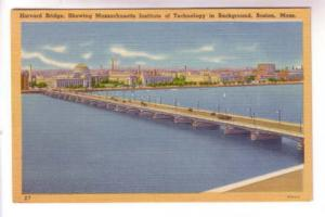 Orange Border, Harvard Bridge, MIT, Boston Massachusetts