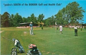 South of the Border Golf and Health Club South Carolina Vintage Postcard