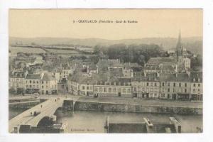 Chateaulin, France, 00-10s   Rue Jeanne d´Arc et la Cathedrale