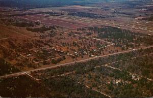 Florida Marion County Aerial View Rainbow Acres 1979