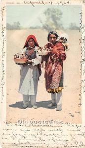 Pueblo Pottery Venders 1904