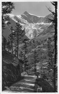 Switzerland Nadelhorn Weg nach Saas Fee Road Mountain