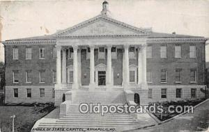 Annex of State Capitol Annapolis, MD, USA Postcard Post Card Annapolis, MD, U...