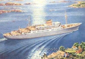 MS Oslofjord Enlarged Continental Size Ship Unused