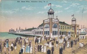 Steel Pier, Atlantic City, New Jersey, 1900-1910s