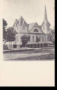 Michigan Big Rapids Westminster Presbyterian Church Albertype