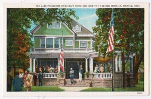 Late President Harding's Home, Marion Ohio