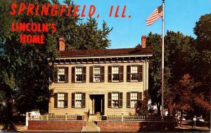 Illinois Springfield Abraham Lincoln's Home