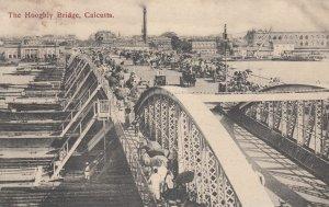 CALCUTTA , India , 00-10s ; The Hooghly Bridge