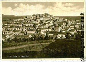 03345  CARTOLINA d'Epoca: FOGGIA - CANDELA : PANORAMA