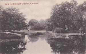 View In Botanical Gardens Calcutta India 1919