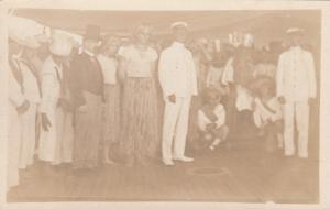 RP, HAWAII, 1900-10s; US Navy Members