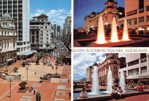 Postcard 1982 Queen Elizabeth Square AUCKLAND New Zealand