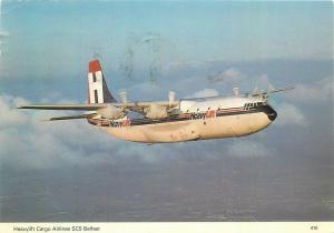 Heavylift Cargo Airlines SC5 Belfast plane