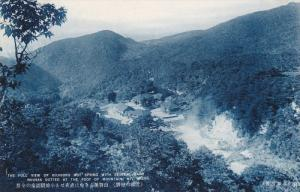 The Full View Of Kojigoku Hot Spring With Several Bath Houses Dotted At The F...