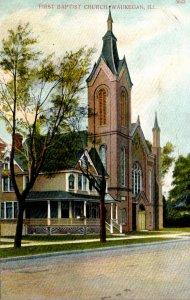 Illinois Waukegan First Baptist Church