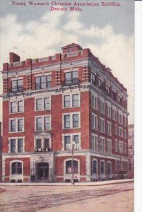 DETROIT, Michigan, PU-1909; Young Women´s Christian Association Building