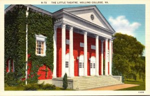 Virginia Hollins College The Little Theatre