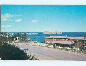 Pre-1980 TOWN VIEW SCENE Gaspe Quebec QC p9623