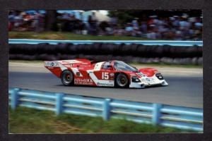 NY Race Car Racing Doc Bundy Porsche 962 Watkins Glen New York Postcard PC