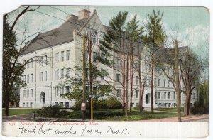 Newtonville, Mass, Newton High School