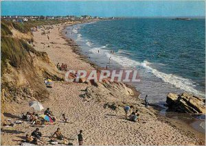 Old Postcard From Guidel in Lorient by Cotiere Route La Grande Plage du Fort ...