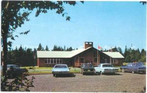 Reception Center, Roosevelt Campobello International Park, New Brunswick, Chrome