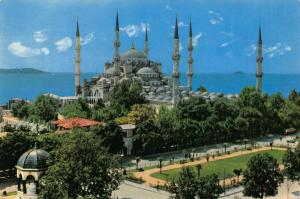 Turkey Sultanahmet Camii Sultanahmet Mosque The Blue Mosque Postcard