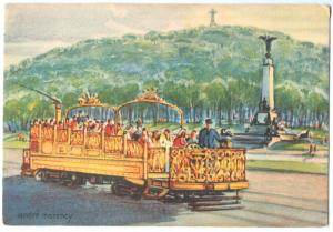 Canada, Le Tramway Observatoire, Montreal, Sightseeing Tramway, unused Postcard