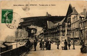 CPA ETRETAT-Terrasse pres du Casino (347734)