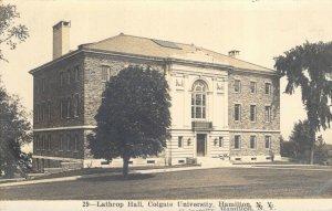 RPPC Lathrop Science Hall Colgate University Hamilton NY Unused Misprinted PC
