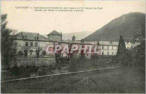 Old Postcard Hospital COMFORT-establishment of the Sisters of St. Vincent de ...