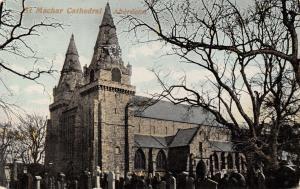 Vintage Aberdeen Scotland Postcard, St Machar Cathedral Y00