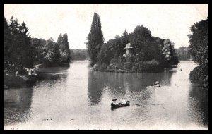 Lac du Bois de Boulogne,Paris,France BIN
