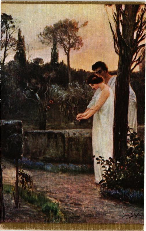 CPA Série Quo Vadis J. STYKA - VINCIUS & LYGIE (285780)