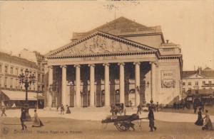Belgium Brussels Theatre Royal de la Monnaie 1908