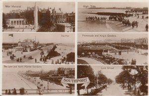 RP; SOUTHPORT, England, 1910s ; 6 view postcard