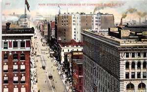Main Street Buffalo, New York Postcard