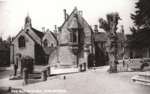 Sherborne Alms House Almshouse Dorset Photo Postcard
