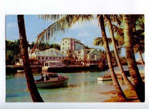 206408 BERMUDA Coral Island Club Vintage photo postcard