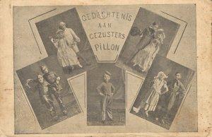 Circus Gedachtenis aan Gezusters Pillon BS.02