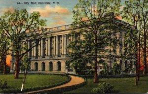 North Carolina Charlotte City Hall Curteich