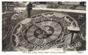 United Kingdom, UK, England, Great Britain Floral Clock, Princes Street Garde...